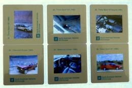 6 X Diapositive - Voiture - TRANS SPORT GT - CHEVROLET BLAZER - NORTH AMERICAN VEHICLES IES EUROPE - G.M. - Diapositives