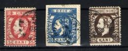 Rumanía Nº 33/35. Año 1872 - 1881-1918: Charles I