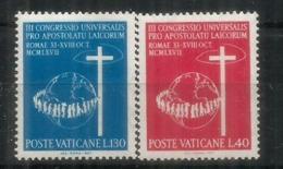 L'apostolat Des Laïcs. Décret Apostolicam Actuositatem , Série Timbres Neufs ** Vatican - Christentum