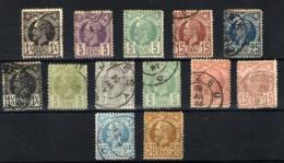 Rumanía Nº 57/59. Año 1885/88 - 1881-1918: Charles I