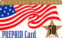 Military Exchange 50 Units Prepaid Card / MCI Phone Card - Unclassified