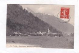 CPA :  14 X 9  -  B.  &  F.  6122  -  Montriond   Et La Pointe De Richassaud - Otros Municipios