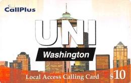 CallPlus UNI Washington $10 Local Access Calling Card - Phonecards