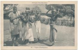NU Ethnique - Afrique Occidentale - Types D'Indigènes - Afrique Du Sud, Est, Ouest