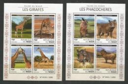 NIGER - MNH - 2015 - Animals - Wild Animals - Stamps