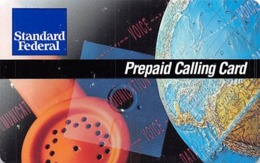 Standard Federal Prepaid Calling Card / Phone Card - Unclassified