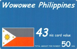 Wowowee Philippines 43 Nis Card Value - Phonecards