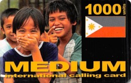 Medium International Calling Card 1000 Units - Unclassified