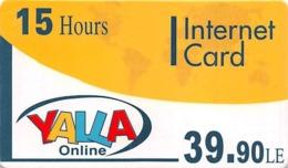 15 Hours Yalla Online Internet Card - Zonder Classificatie