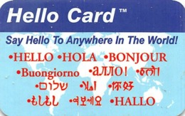 Hello Card / Phone Card - Zonder Classificatie