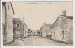 FRANCE / CPA DE CHEPPES / LA GRANDE RUE - France