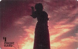 Limited Edition Gone With The Wind Collector $1 Phone Card - Phonecards