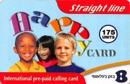 Straightline Happy Card 175 Units International Prepaid Calling Card - Unclassified