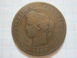10 Centimes 1888 (A) - D. 10 Centimes