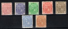 Rumanía Nº 83/89. Año 1891 - 1881-1918: Charles I