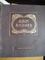Album Richard  Schaubeks Pour  Entiers Postaux Découpés, à Compléter - Collections (en Albums)