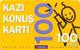 Kazi Konus Karti 100 / Turkcell Phone Card - Unclassified