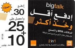Bigtalk Phone Card - Zonder Classificatie