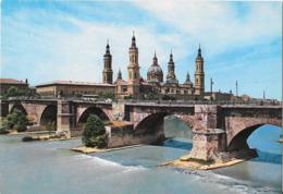 ZARAGOZA - Puente De Piedra Sobre El Elbro - Pont - Bridge - Zaragoza