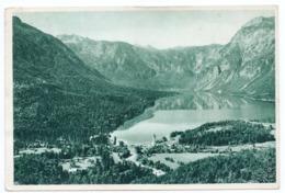 1950s YUGOSLAVIA, SLOVENIA, BOHINJ LAKE TO PRCANJ, POSTAGE DUE, ILLUSTRATED POSTCARD, USED - Postage Due