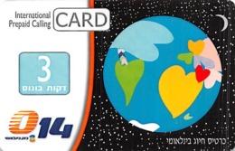 International Prepaid Calling Card - Unclassified