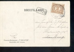 Kooiwijkerbroek - 1921 - Marcophilie
