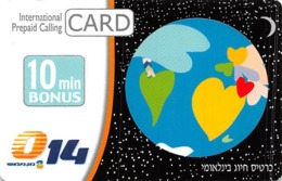 International Prepaid Calling Card - 10 Min Bonus - Valid 31/08/08 - Phonecards