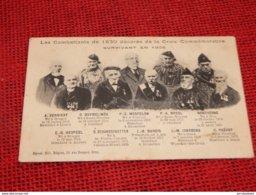MILITARIA - Les Combattants De 1830 Décorés De La Croix Commémorative Survivant En 1905 - Guerres - Autres