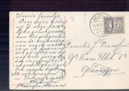 Helpman - Langebalk - 1913 - Marcophilie