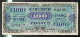 Billet 100 Francs Verso France 1945 Sans Série - Schatkamer