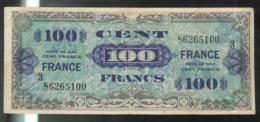 Billet 100 Francs Verso France 1945 Série 3 - 1945 Verso Francés