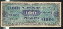 Billet 100 Francs Verso France 1945 Série 4 - Schatkamer