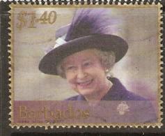 Barbados  2002   SG  1205   Q E 11  Fine Used - Barbados (1966-...)