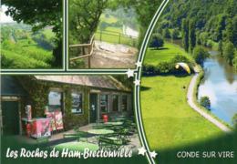 CPM - L - MANCHE - CONDE SUR VIRE - BRECTOUVILLE - LES ROCHES DE HAM - France