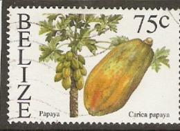Belize  2000  SG  1268  Papaya   Fine Used - Belize (1973-...)