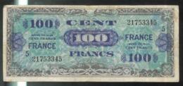 Billet 100 Francs Verso France 1945 Série 5 - Schatkamer