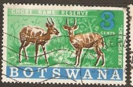 Botswana   1967  SG 238  Chobe Game Reserve  Fine Used - Botswana (1966-...)