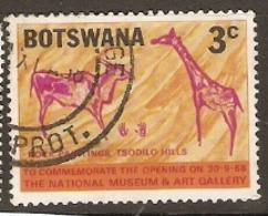 Botswana   1968  SG 244  Museum And Art Gallery   Fine Used - Botswana (1966-...)