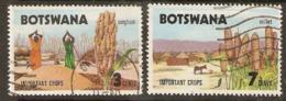 Botswana   1971  SG 276,77  Important Crops   Fine Used - Botswana (1966-...)