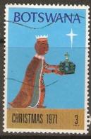 Botswana   1971  SG 268  Christmas  Fine Used - Botswana (1966-...)