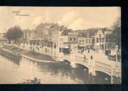 Leiden - Prinsessekade - Tram - 1910 - Langebalk - Leiden