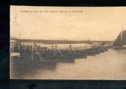 Vianen - Vreeswijk - Lek Schipbrug - 1910 - Langebalk Vianen - Niederlande