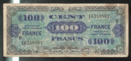 Billet 100 Francs Verso France 1945 Série 6 - 1945 Verso France