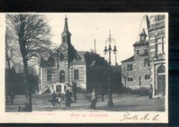 Hilversum - Groet Uit - 1906 - Langebalk - Hilversum