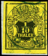Hannover. Michel #5. Used On Piece. HANNOVER. - Hanover