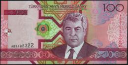 TURKMENISTAN - 100 Manat 2005 {Türkmenistanyň Merkezi Banky} UNC P.18 - Turkmenistan