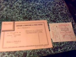 BILLET DE TOMBOLA  & Prospectus Campagne De Ramassage De Vieux Papiers Année 1942 - Billetes De Lotería