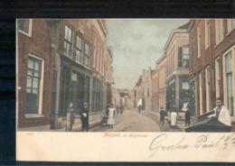 Meppel Hoofdstraat - 1905 - Zwolle Groningen Grootrond 1907 - Meppel