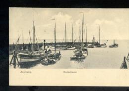 Zoutkamp - Buitenhaven - Schip Boot - 1909 Grootrond - Pays-Bas