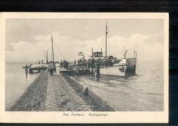 Nes Ameland Aanlegsteiger Boot Schip 1928 - Hallum Langebalk - Ameland